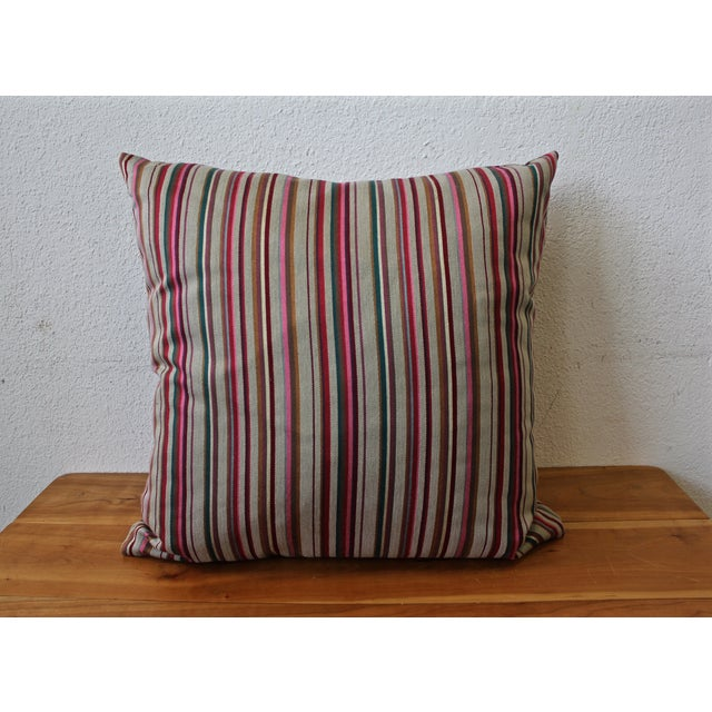 Contemporary Striped Pillow - Image 2 of 4