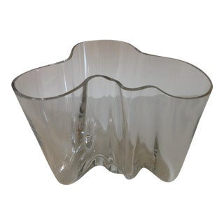 1960's Alvar Aalto Glass Bowl