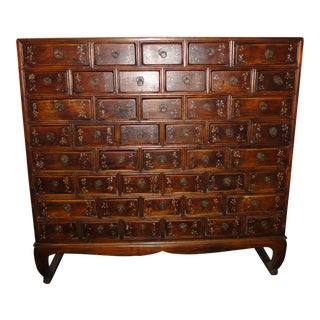 Asian Apothecary Chest