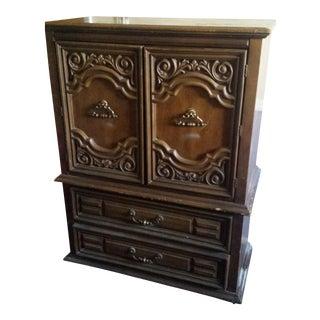 Vintage Bassett Bureau Cabinet