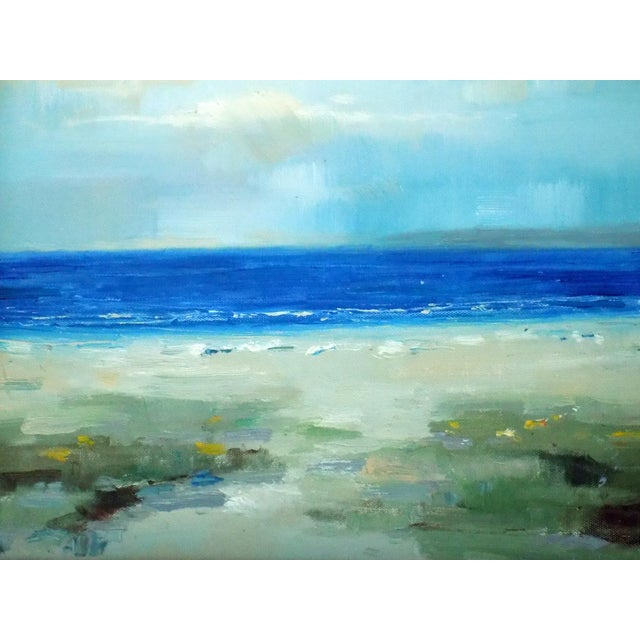 The Beach Oil Painting - Image 3 of 5