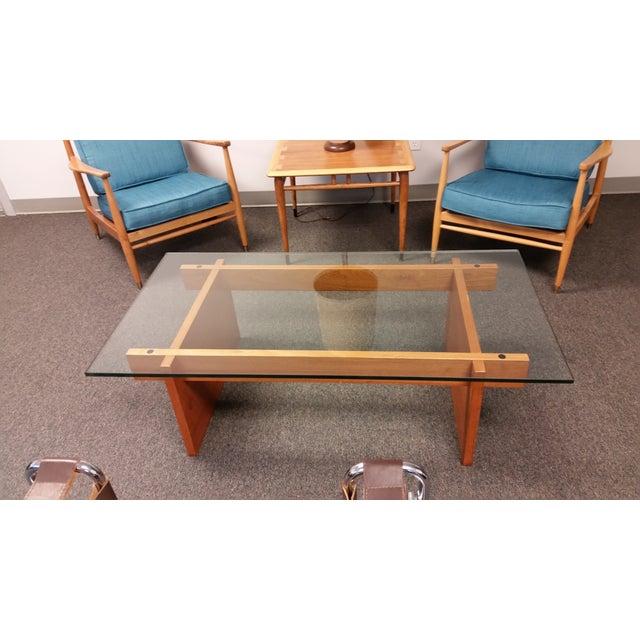 Danish Mid Century Teak Coffee Table 1 Small: Mid-Century Danish Teak Coffee Table By Langkilde