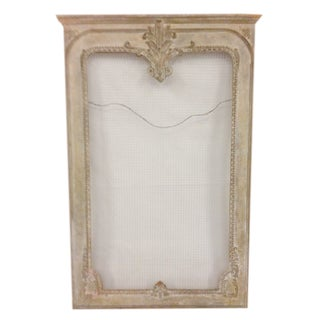 Hand Carved Mirror Frame