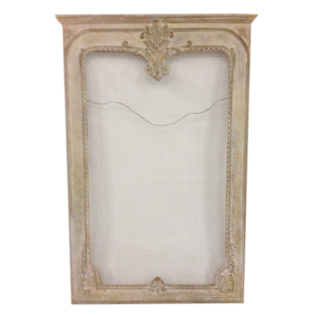Image of Hand Carved Mirror Frame