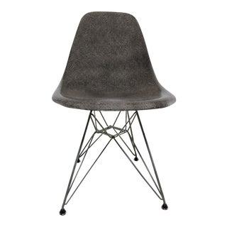 Vintage Mid-Century Modern Gray Herman Miller Eames DSR Chair
