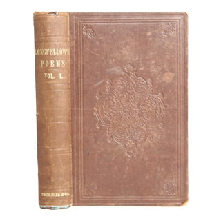 "1856 ""Longfellow Poems: Volume One"""