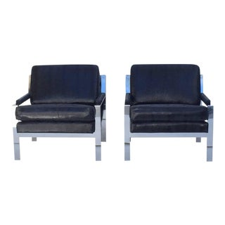 Lounge Chairs Designed by Cy Mann - A Pair