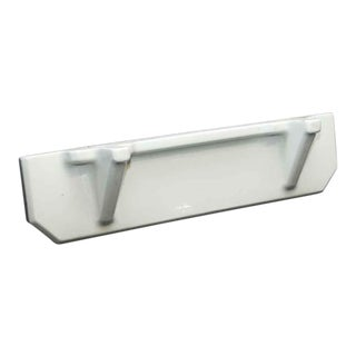 White Porcelain Bathroom Shelf