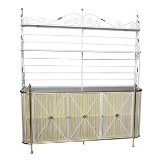 French Iron Bakers Rack