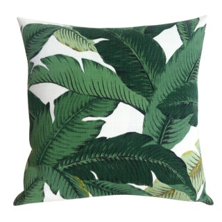 Outdoor Banana Leaves Pillow Cover
