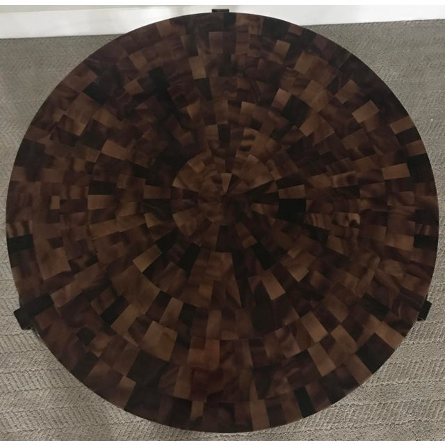 Eric Brand Tortoise Shell Side Table - Image 6 of 6