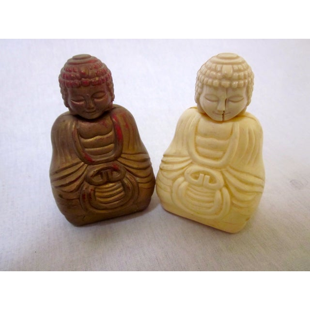 Refillable Buddha Fragrance Bottles - A Pair - Image 2 of 7