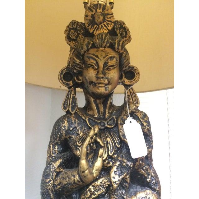 Large Mid-Century Geisha Lamp - Image 4 of 6