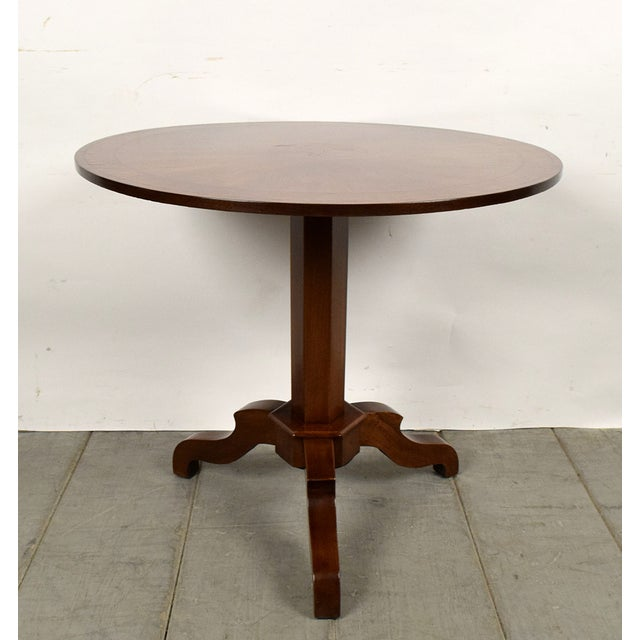 French Antique Louis Philippe Tilt-Top End Table - Image 3 of 9