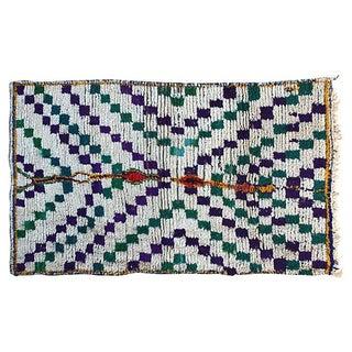 Moroccan Azilal Rug, 6'3'' X 3'8''