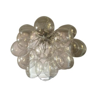 'Graciano Suspension' Glass Ball Chandelier