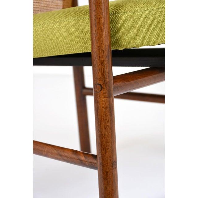 Mid Century Modern Armchairs: Pair Of Mid-Century Modern-style Armchairs
