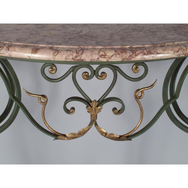 Image of French Louis XV Style Wall Console Table