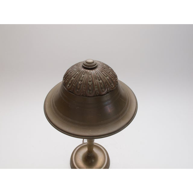 Antique Brass Table Lamp C. 1930s - Image 3 of 4