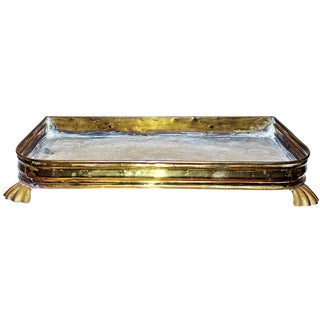 Antique Brass Planter Tray