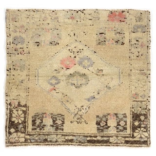 Turkish Yastik Hand-Knotted Wool Rug - 2' x 2'2""