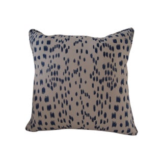 Blue and White Le Touches Pillow