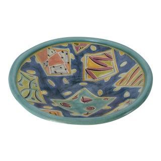 1980s Ceramic Centerpiece Bowl