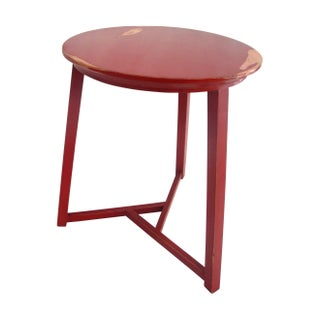 Red Retro Table