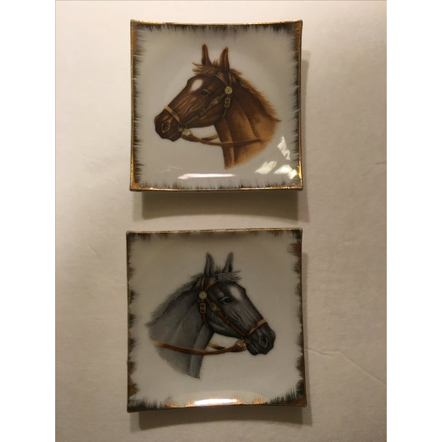 Vintage Empress China Horse Head Dishes - Pair - Image 2 of 9