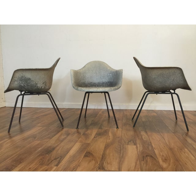 Image of Eames Shell Arm Chairs - Set of 3