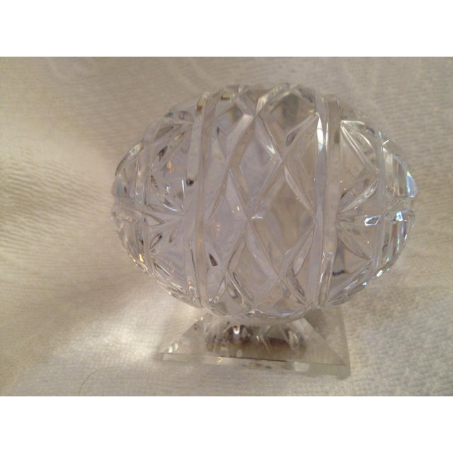 Tyrone Crystal Egg Chairish