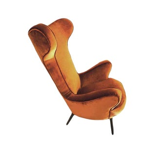 Sculptural Armchair, Italy 1950s