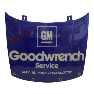 Collectible Display Nascar Stock Car Hood Signed by Dale Earnhardt Jr. 1996