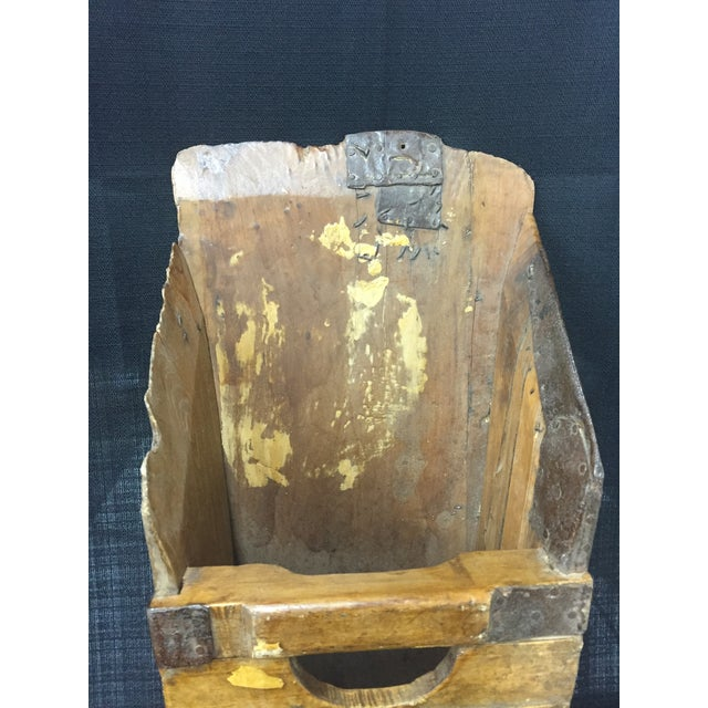 Primitive Wooden Grain Scoop - Image 3 of 6