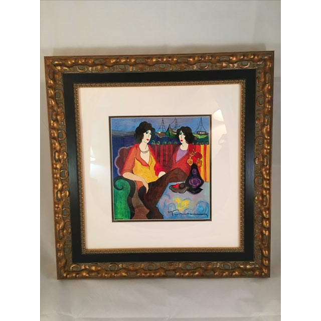 "Itzchak Tarkay ""At thePort"" Signed and Numbered - Image 2 of 9"