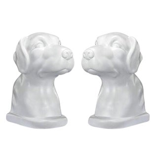Dog Book Ends - A Pair