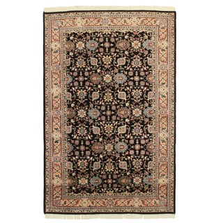 "Hand Knotted Wool Rug - 5'5"" x 8'5"""