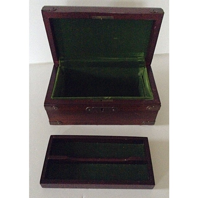 Parker Pen Company Wooden Box - Image 4 of 7