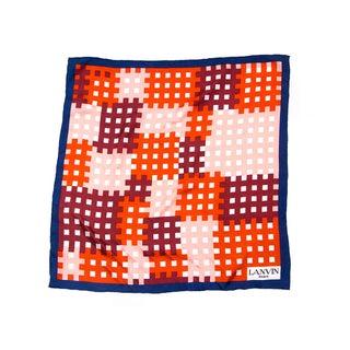 Lanvin Geometric Print Scarf