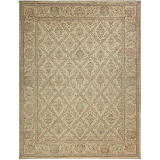 """Oushak, Hand Knotted Area Rug - 8'3"""" x 10'5"""""""
