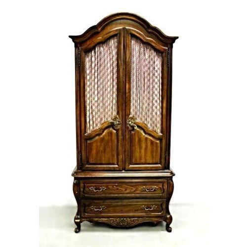 Carlton House French Louis XV Style Mahogany Armoire Cabinet - Image 2 of 11