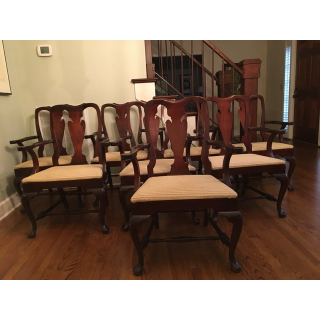 Fiddle Back Dining Chairs - Set of 8 - Image 2 of 10