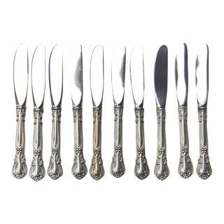 Gorham Chantilly Butter Knives - Set of 10