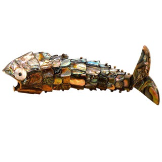 Bottle Opener Fish Sculpture