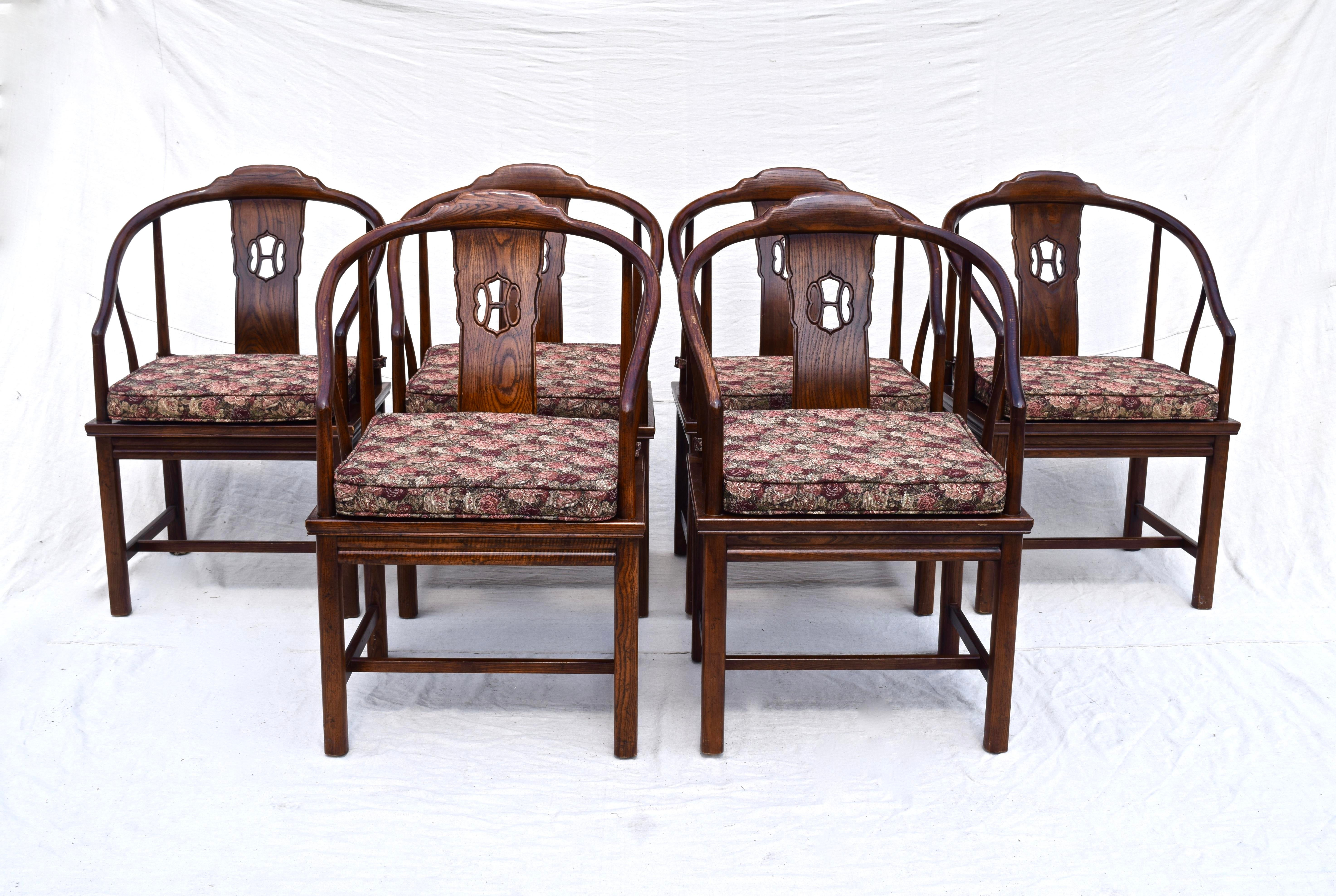 Henredon Chinoiserie Dining Room Chairs   Set Of 6   Image 2 Of 10