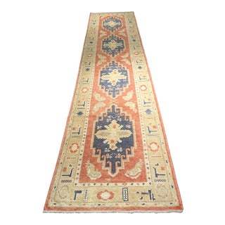 Bellwether RugsGenuine Turkish Oushak Runner - 3' X 13'5""