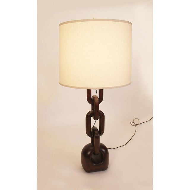 Chain Link Table Lamp - Image 2 of 4