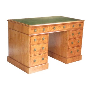 Satinwood Desk