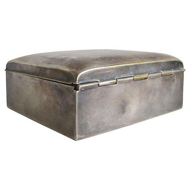 Poole Silver Cigarette Box - Image 3 of 4