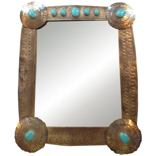 Stamped Vanity Mirror - Image 1 of 7